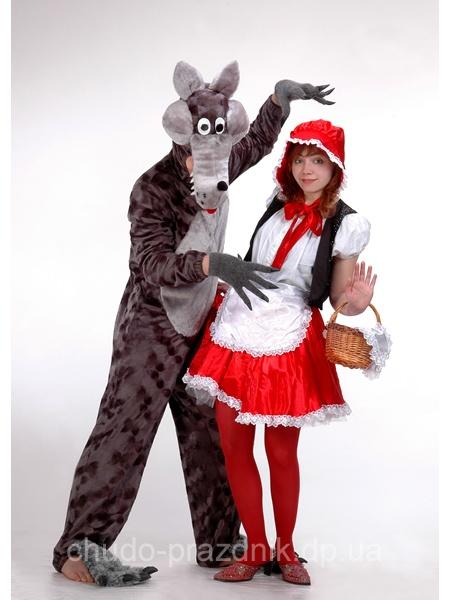 Красная шапочка и Серый Волк Ростовая кукла