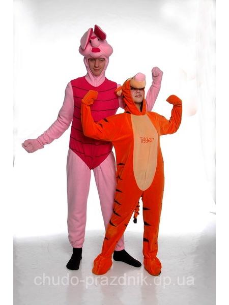 Пятачок и Тигра