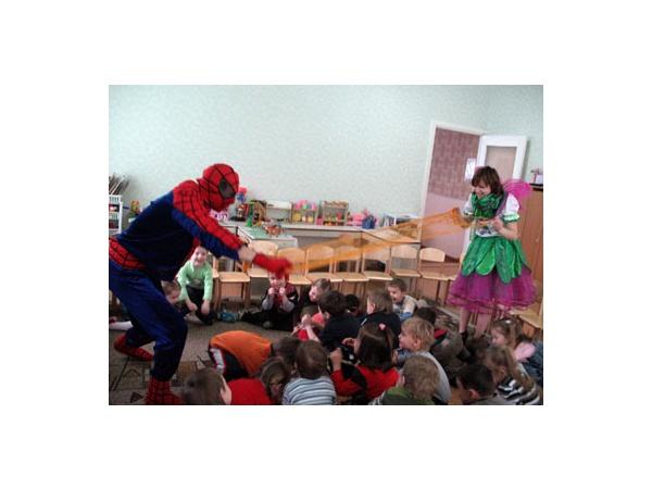 Человек- Паук Супермен Супер-герой