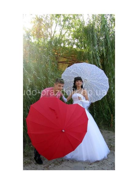Свадебный зонт Свадебная фотография
