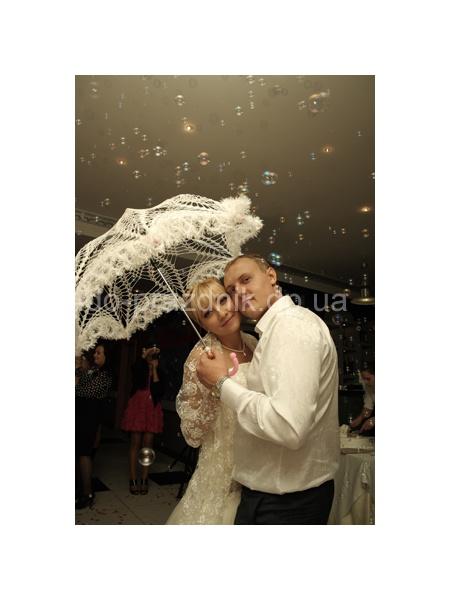 Свадебный зонт, свадебная фотография